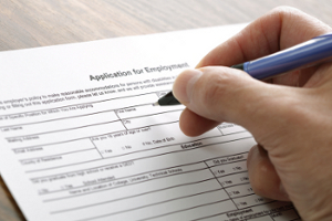 employees application form
